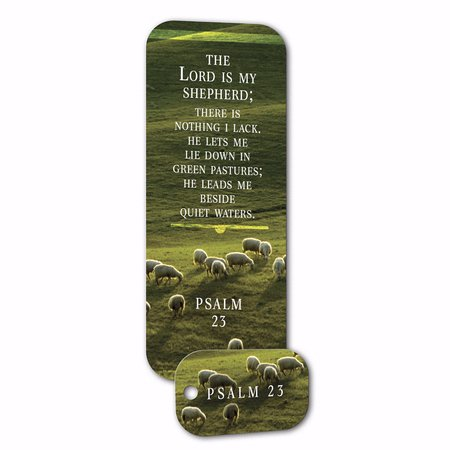 Truth Tag The Lord Is My Shepherd Key Tag   Bookmark  Psalm 23