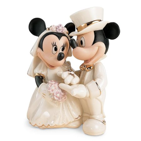 Lenox Disney Showcase Minnie's Dream Wedding Figurine - Disney Halloween Figurines Walmart