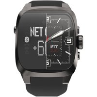 iFit DUO Square Men's Fitness Watch