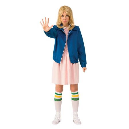 Halloween Stranger Things Eleven's Blue Jacket Adult - Thing One And Thing Two Halloween Costumes