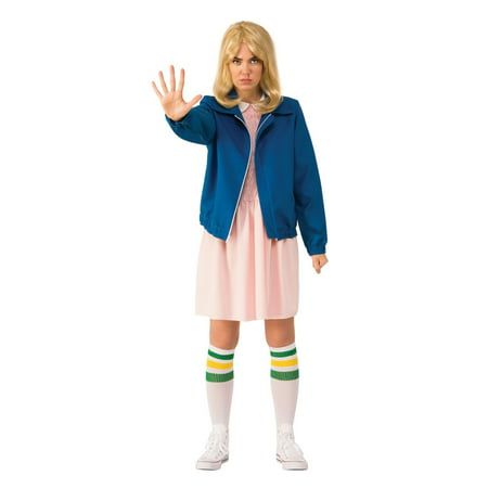 Halloween Stranger Things Eleven's Blue Jacket Adult