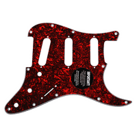 920D CS Red Lava 3 Ply Pickguard for Fender Stratocaster Strat CNC Presicion Cut