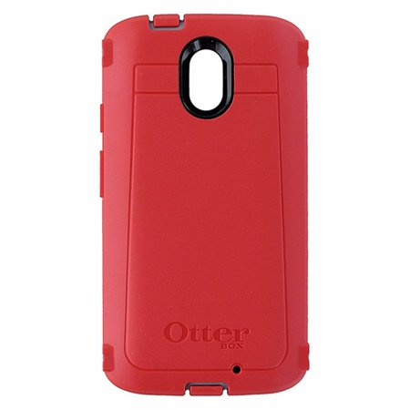 cheap for discount 47752 f4c3a OtterBox DEFENDER Case for MOTOROLA DROID TURBO 2- SLEET GREY/SCARLET RED