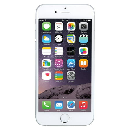 Refurbished Apple iPhone 6 Plus 16GB, Silver - Unlocked GSM