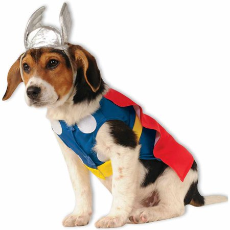 Superhero Dog Costumes (Thor Dog Costume)