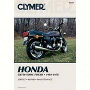 Clymer Manuals M341  M341; Fits Honda Cb750 Sohc Motorcycle Repair Service Manual