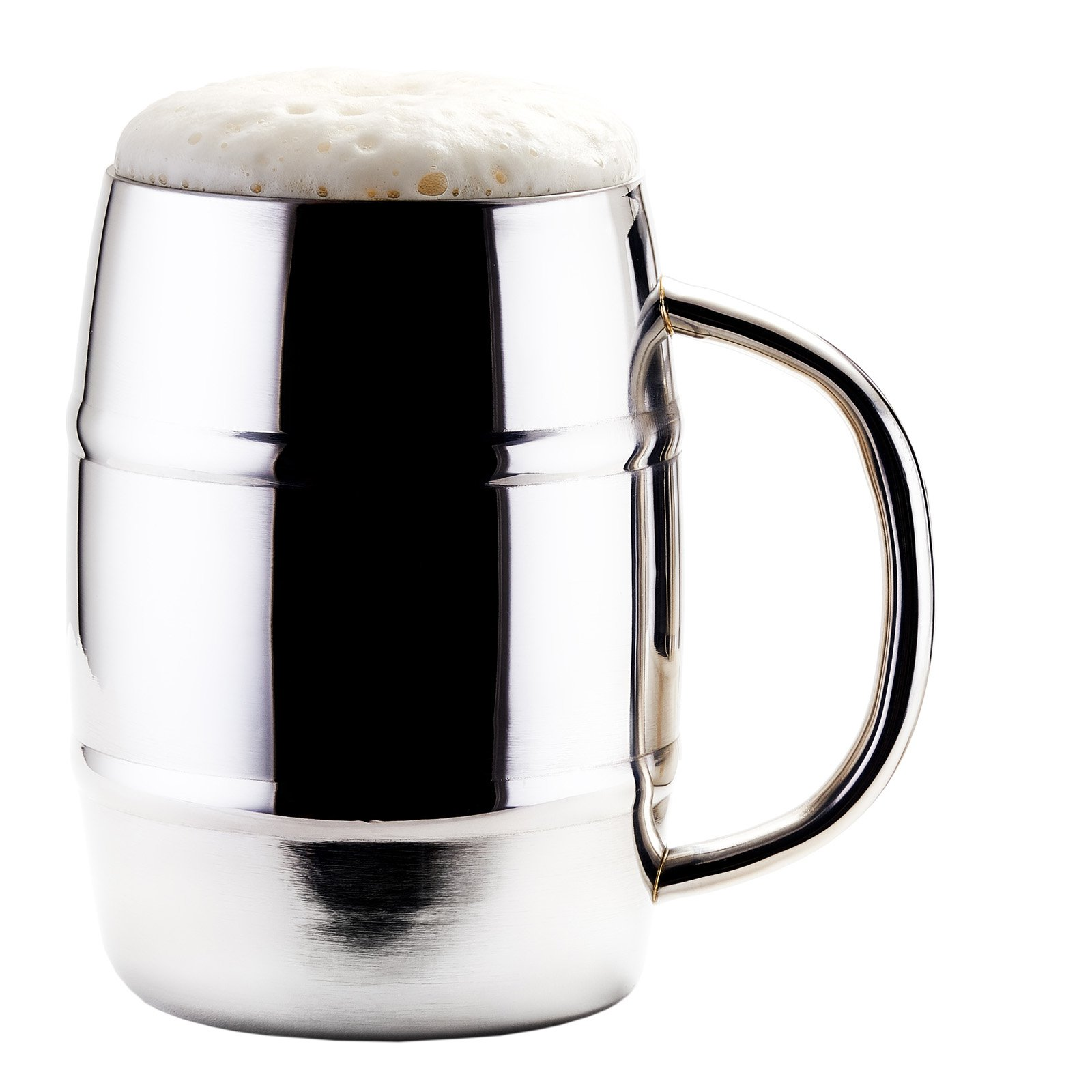 Old Dutch International KeepKool 33.8 oz. Stainless Steel Mug - Set of 2
