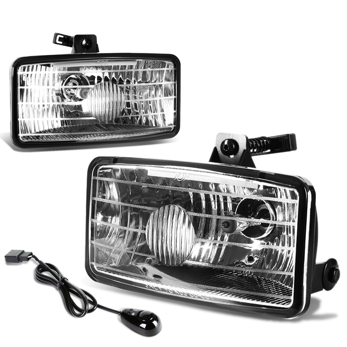 for 00 03 chevy s10 xtreme gmt325 pair of bumper driving fog lights rh walmart com