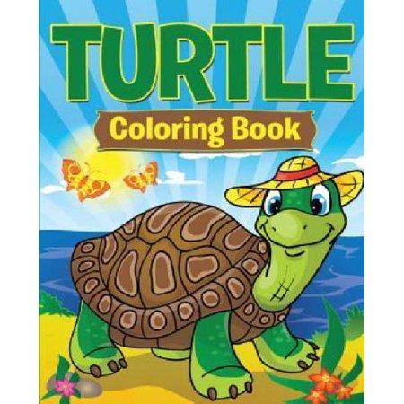 Turtle coloring book Coloring book walmart