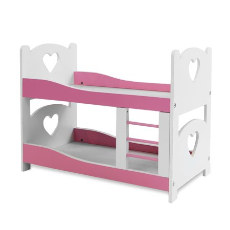 Pink Butterfly Closet Doll Bunk Bed Furniture Fits American Girl