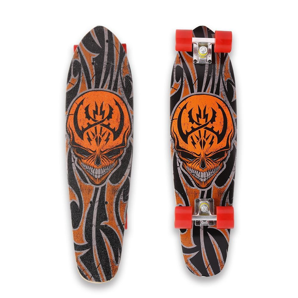 "Christmas Toy Clearance! 28 "" Skateboard Longboard Wooden Complete Deck Skate Board Kids Toy Outdoors Fun WIMA by"