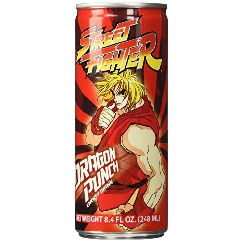 Street Fighter Dragon Punch Energy Drink 17145