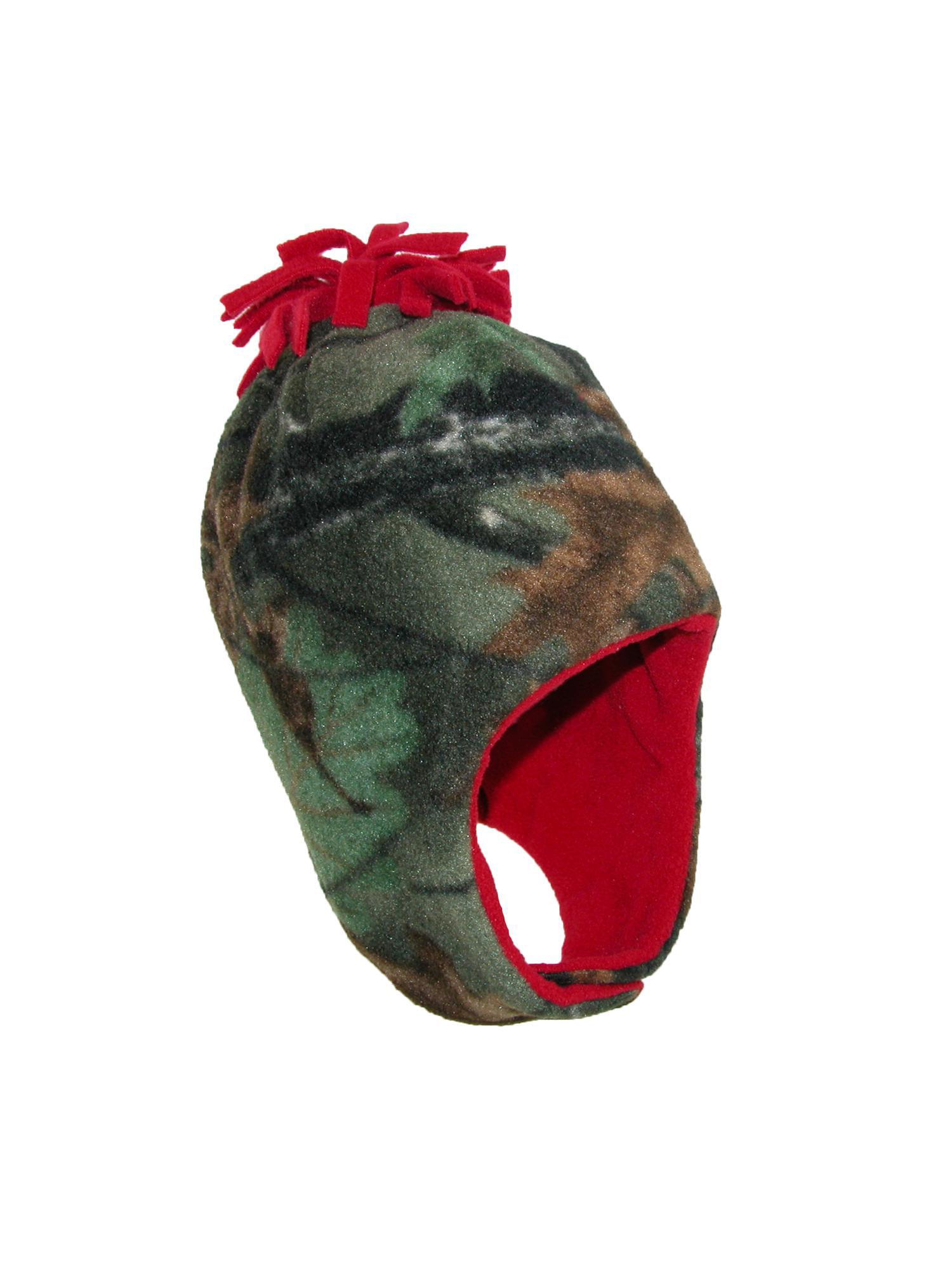 b5128df2782 Grand Sierra - Grand Sierra Size one size Boys  2-4 Fleece Camouflage Hat  and Mitten Winter Set - Walmart.com