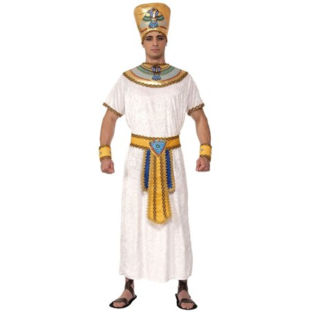 Adults Mens Egyptian Pharaoh Pharaoh King Costume Large 42-44 - Men Adult Costumes