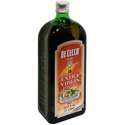 De Cecco Extra Virgin Olive Oil, 33.8 oz (Pack of 12)