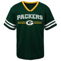 20eb8a0d Product Image Toddler Green Green Bay Packers Mesh Jersey V-Neck T-Shirt