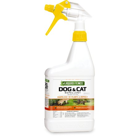 - Liquid Fence Dog & Cat Repellent Ready-To-Use, 32-fl oz