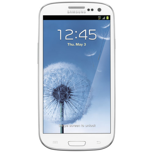 T-Mobile Pre-Paid Samsung GS3 LTE 16GB, Titanium Gray/Marble White