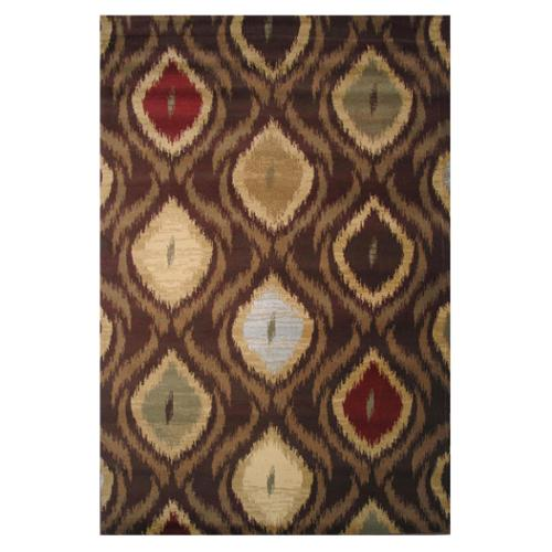 Inspiration Flames-Color:Brown,Size:2' x 8'