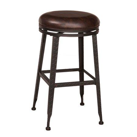Groovy Hillsdale Hale Backless Swivel Bar Stool Short Links Chair Design For Home Short Linksinfo