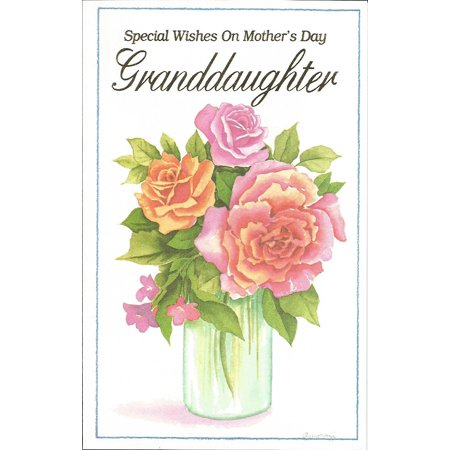Special Wishes On Mother's Day Granddaughter (M-2), Cover: Special Wishes On Mother's Day Granddaughter By Magic Moments Ship from