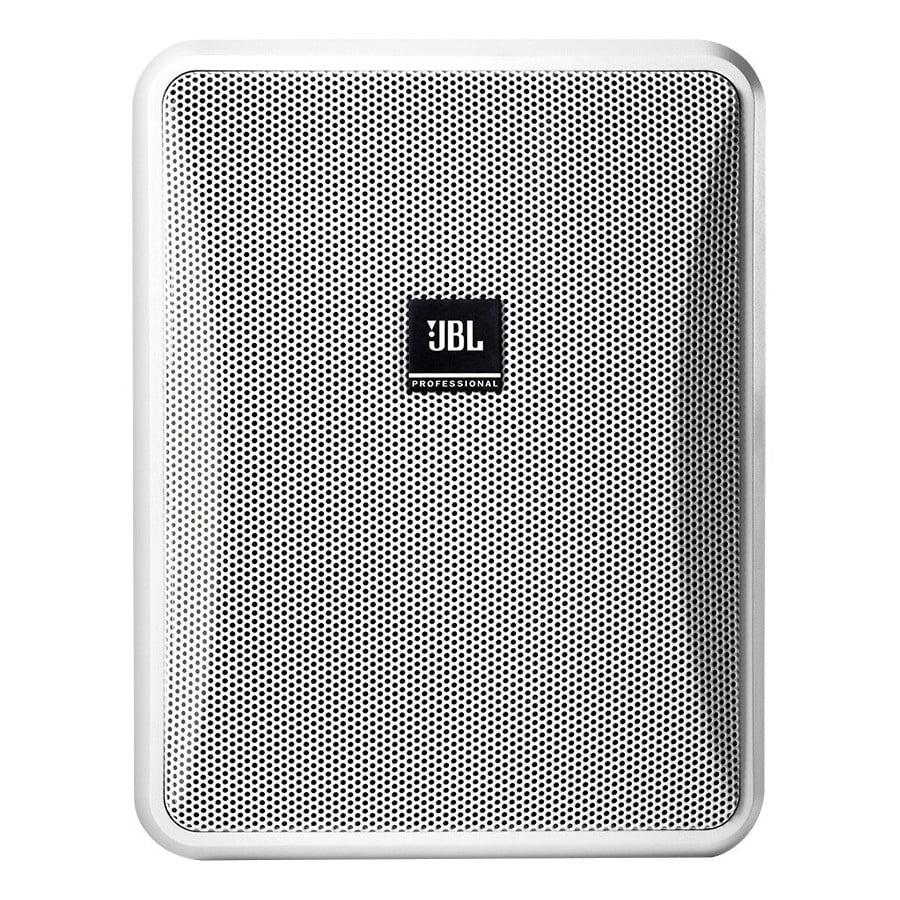 "jbl control 25-1-wh 5"" 2-way indoor/outdoor speaker pair 70v / 100v / 8 ohm - white"