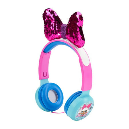 LOL Surprise Molded Kids Safe Headphones