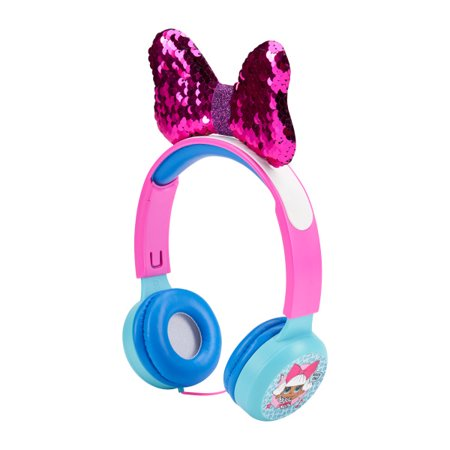 LOL Surprise Molded Kids Safe Headphones