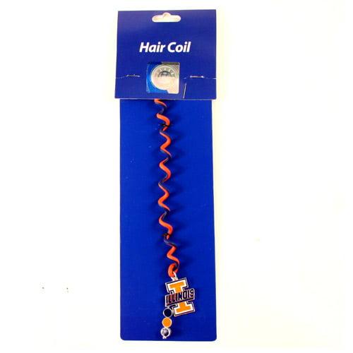Illinois Fignting Illini Hair Coil