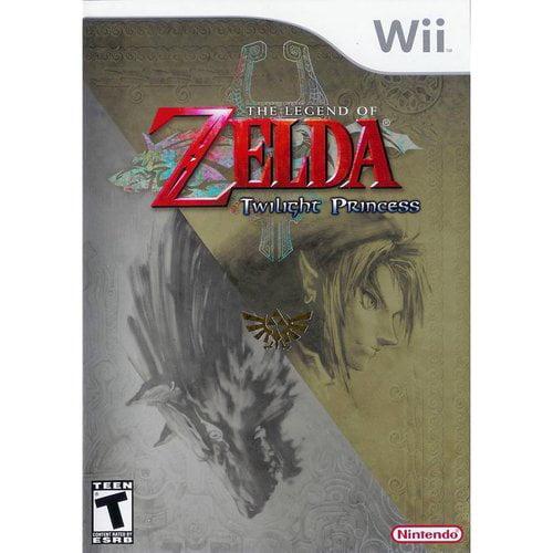 Zelda Twilight Princess  (Wii) - Pre-Owned