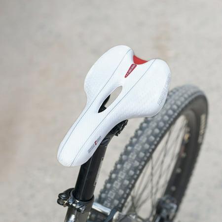 aada0760cfc BaseCamp Mountain Bike Road Bicycle Cycling Hollow Saddle Seat Cushion Soft  - Walmart.com