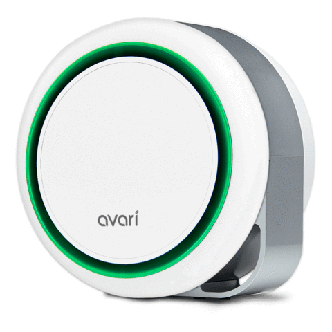 Avari 500 Better than HEPA Air Purifier, Green