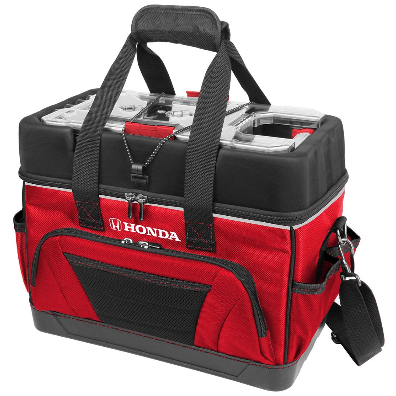 "Honda 16"" Tool Bag with Plastic 16"" x 9"" x 13"" Organizer Free Ship by Honda"