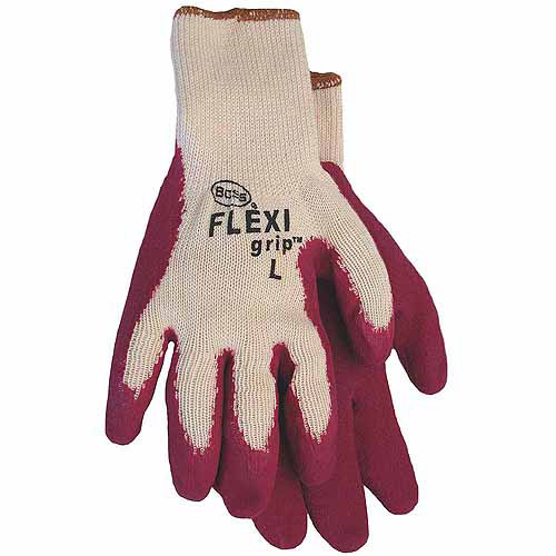 Large Flexi Grip Latex Palm Gloves