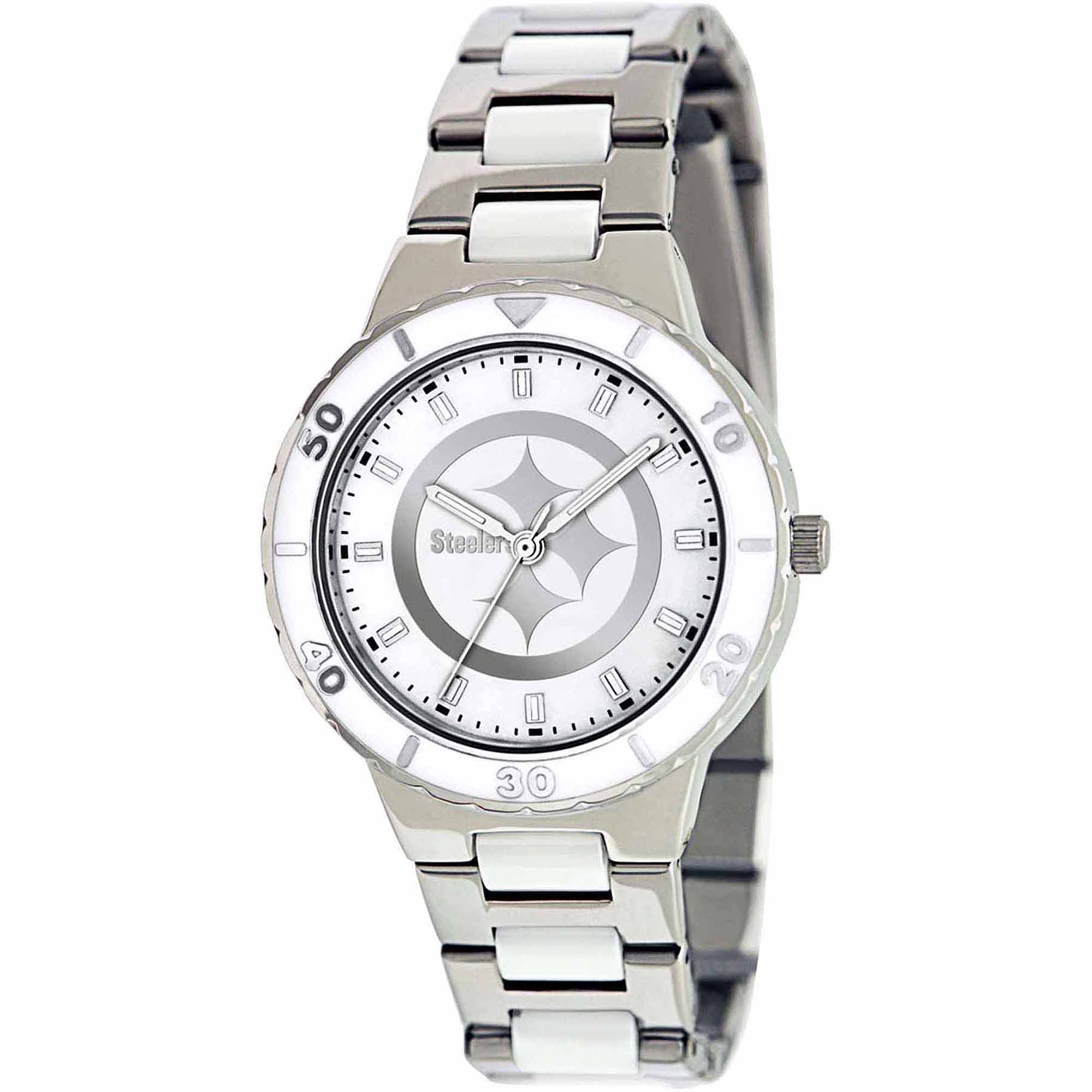 Game Time NFL Women's Pittsburgh Steelers Pearl Series Watch