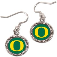 Oregon Ducks WinCraft Women's Round Dangle Earrings