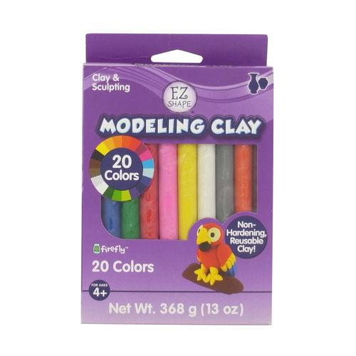 EZShapeNon-DryModelingClay20-ColorPack