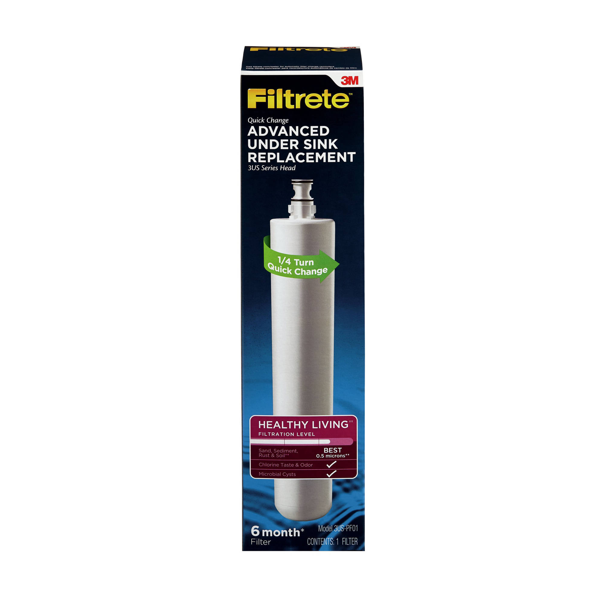 3M Filtrete Under-Sink Advanced Replacement Water Filter