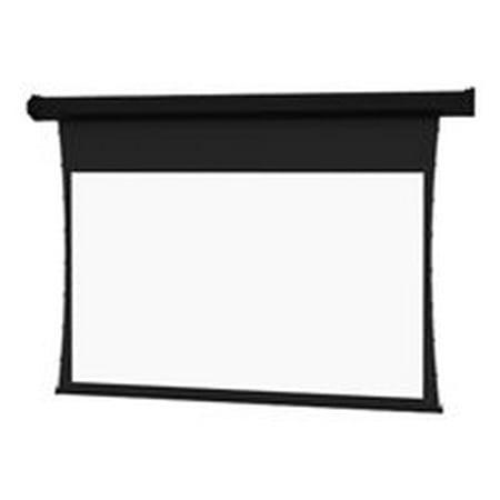 Da-Lite Tensioned Cosmopolitan Electrol Wide Format - Projection screen - motorized - 120 V - 123 in (122.8 in) - 16:10 - High Contrast Da-Mat - black powder coat