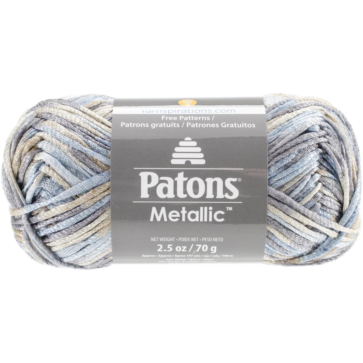 Metallic Variegated Yarn-Moonstone - Walmart.com
