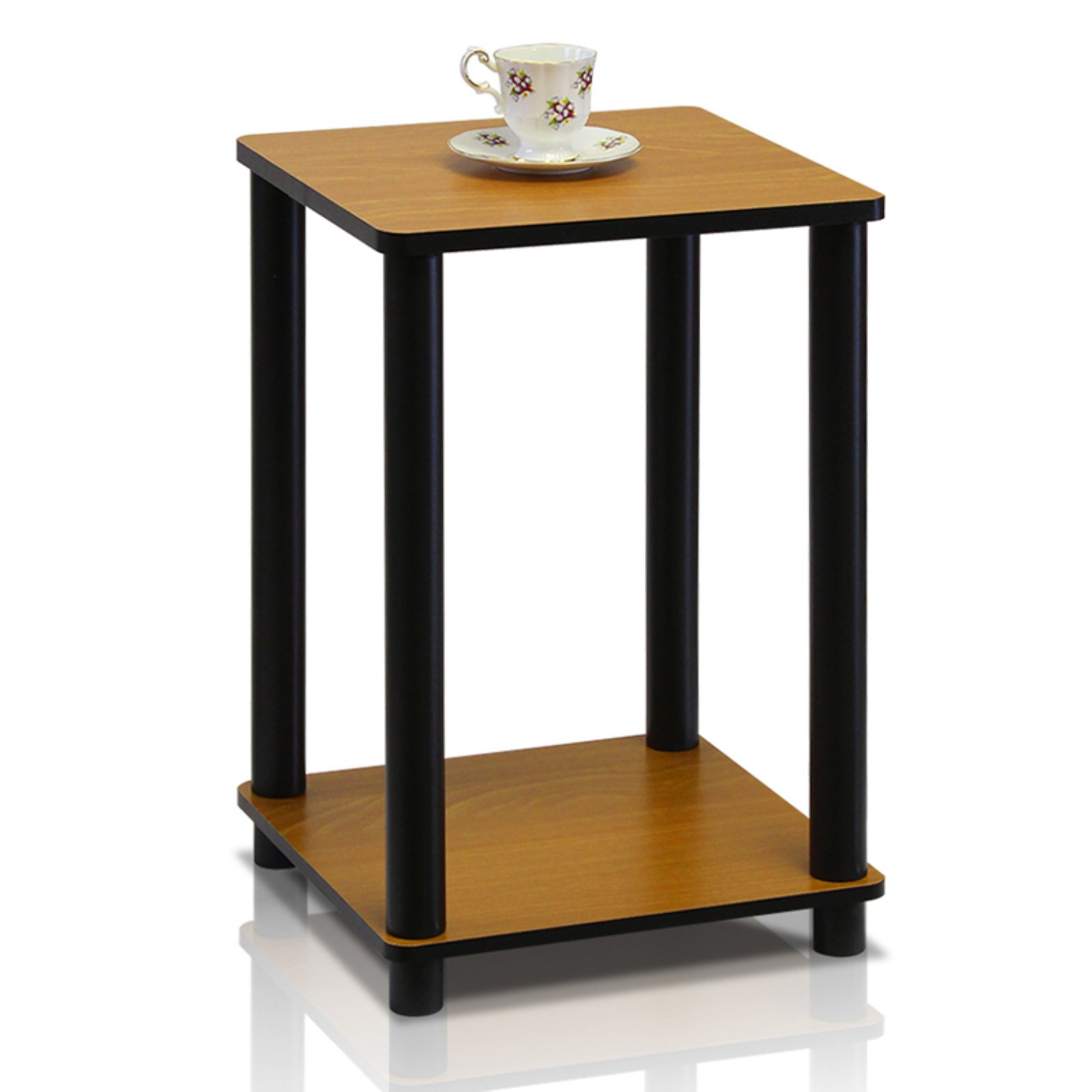 Turn-N-Tube End Table Indoor Plant Stand, Multiple Colors by Furinno