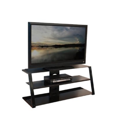 tech craft pcu48 techcraft pcu48 48 metal tv stand. Black Bedroom Furniture Sets. Home Design Ideas