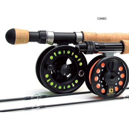 Super Fly FCL86564US Perf Combo-4Pc-5/6Wt 8'6 Fishing Fly Combo