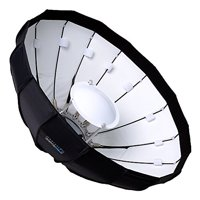 Pro Studio Solutions EZ-Pro 24in (60cm) Beauty Dish and Softbox Combination with Norman Speedring