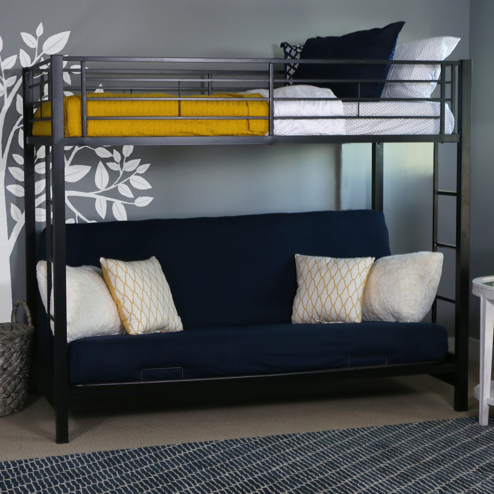 cool bunk beds for adults wall mounted slumber comfort 6 twin pack bunk bed spring mattress mattresses only walmartcom