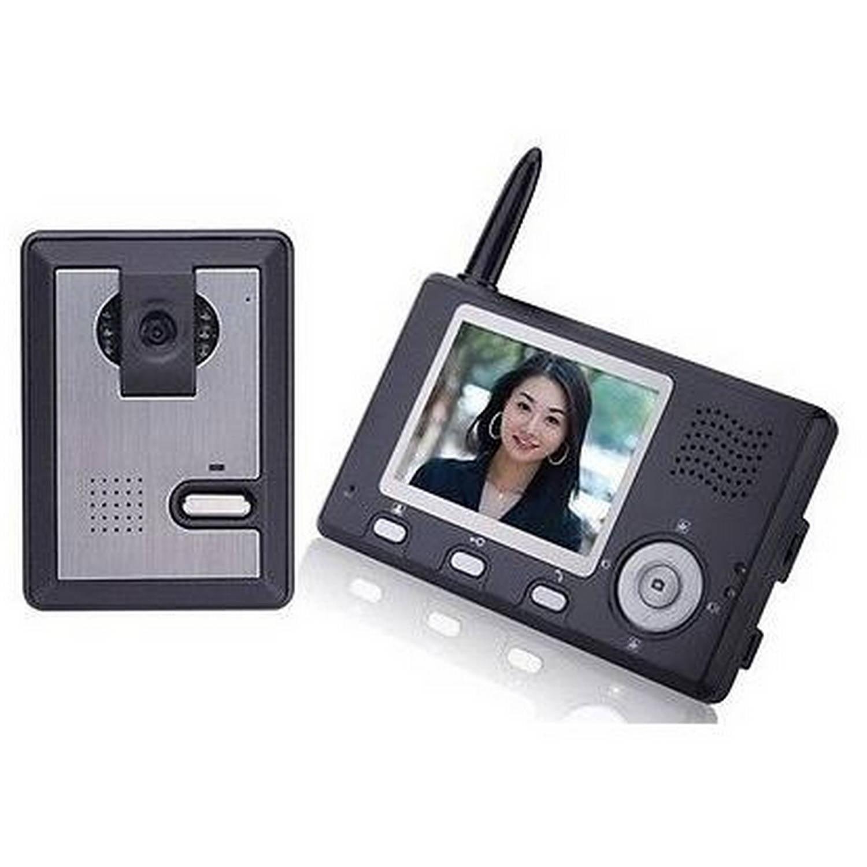 Aleko LM162 3.5 Display Intercom Wireless Video Door Phone System