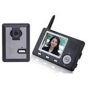 ALEKO Wireless Video Door Phone Intercom System - 3.5-Inch Display - LM162
