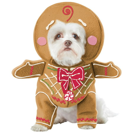 Gingerbread Pup Pet Costume - Gingerbread Man Adult Costume