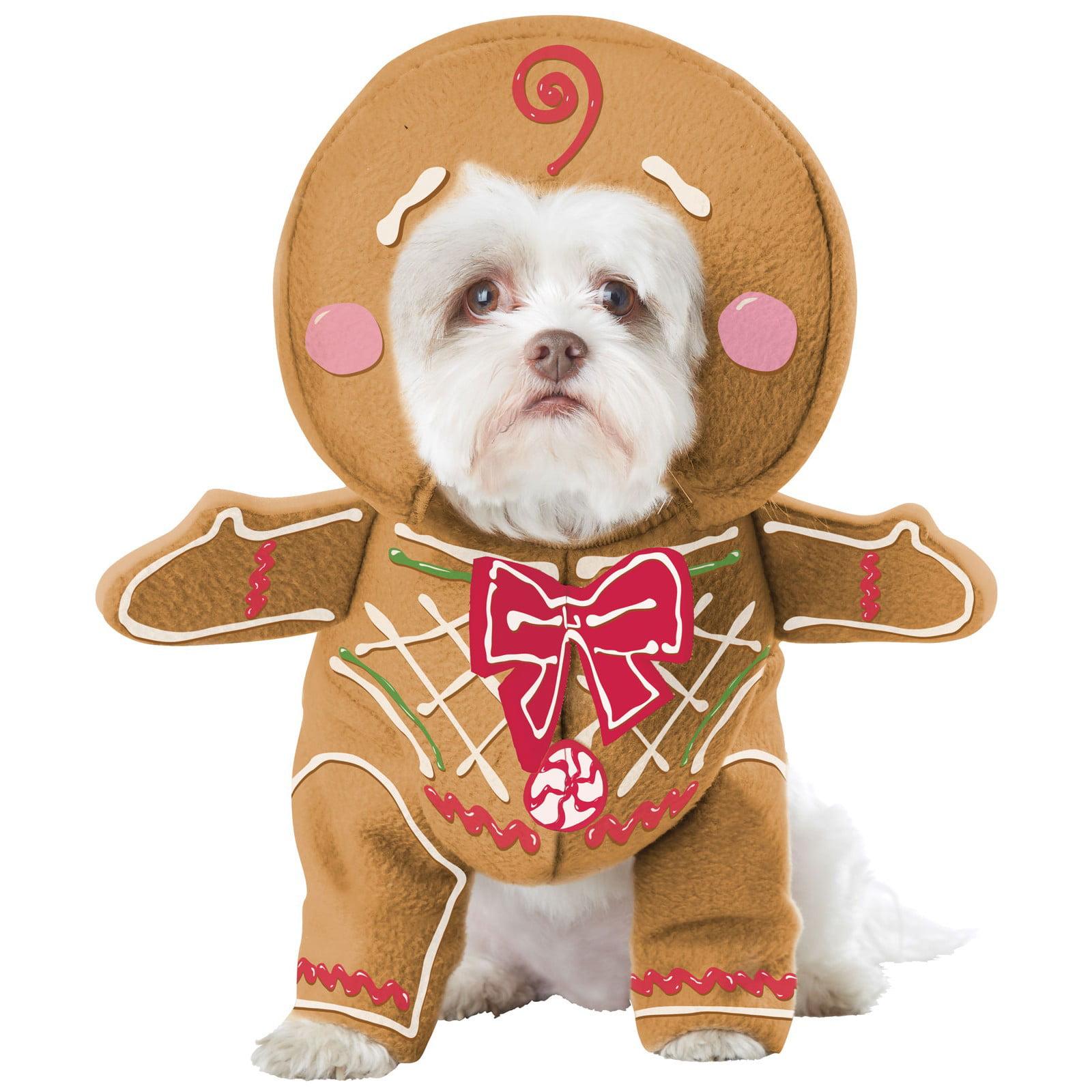 Gingerbread Pup Pet Costume