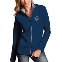 Sporting Kansas City Antigua Women's Leader Full Zip Jacket - Navy